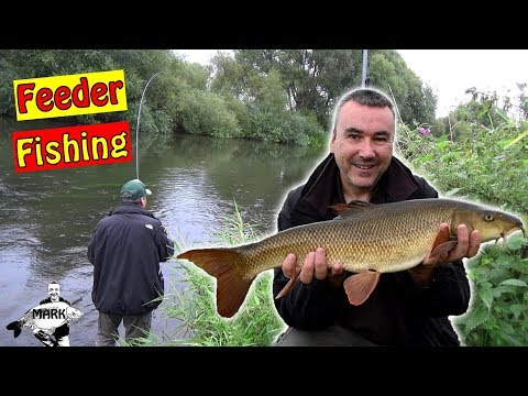 Feeder Fishing for Barbel on the River Severn