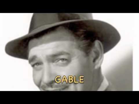 GABLE  (A One-Person Play)