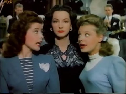 'In a Little Spanish Town' | Thousands Cheer MGM 1943 | Virginia O'Brien, June Allyson, Gloria DeHaven