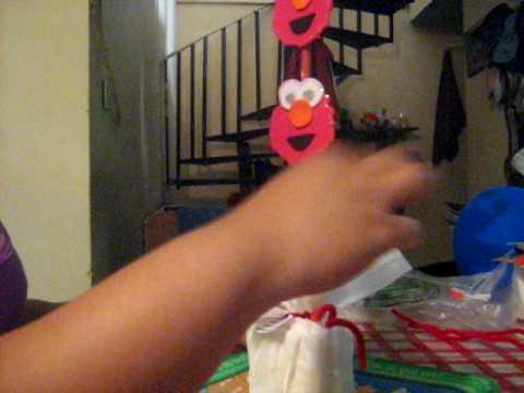 Centro de mesa Elmo (part.2)