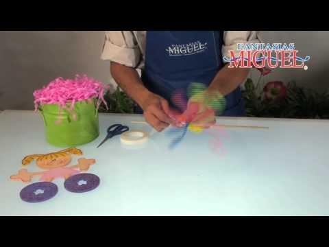 Como hacer un Centro de Mesa Infantil