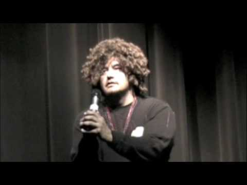 Vaughn Eaglebear of Pow-wow Comedy Jam