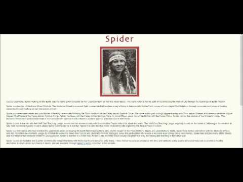 Chant To AtaBey by Spider (Taino Tee)