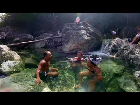Las Cascadas del río Duaba • The River Duaba Waterfalls – by Villa Paradiso Baracoa