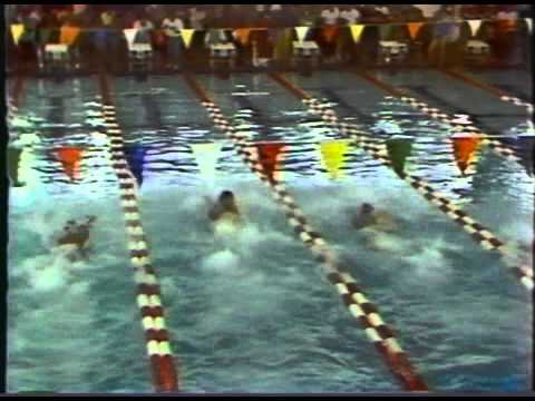 Chris Silva 50 fr match sprint @ 2nd Black History Invitational Swim Meet Wash., D.C. 1988