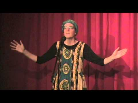 """""""feast and famine"""" Andrea Kamens @Puppet Showplace Theater 11/15/12 massmouth storyslam"""