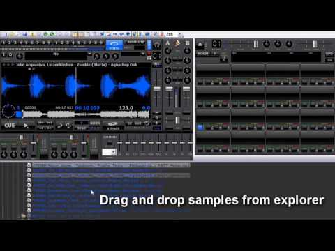 MixVibes PRODUCER- Sampler tutorial STEP 1