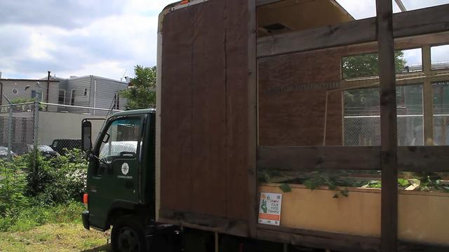Compass Green Mobile Greenhouse