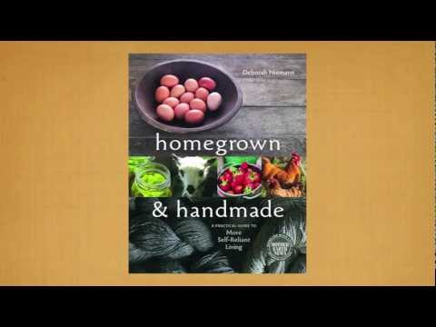 Homegrown & Handmade Book Trailer