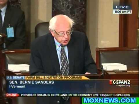 Bernie Sanders Goes After Monsanto