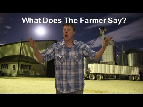 Video: What Does The Farmer Say? (A Parody of Ylvis's 'The Fox')