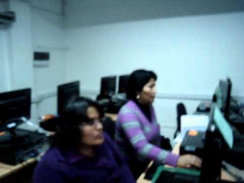 Primera sesión de Alfabetización Digital en PRONAFCAP PUCP Antamina