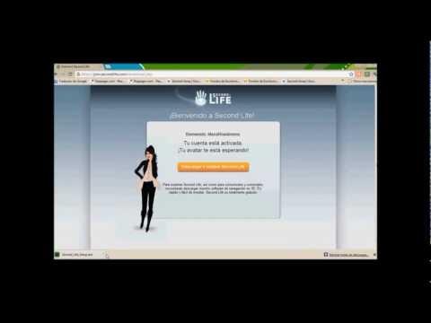 Inducción a Second Life1 - Creando mi primera cuenta