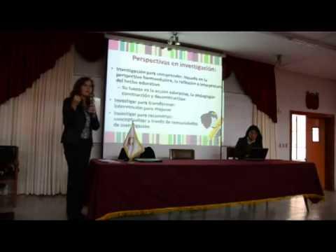 Conferencia de Teresa Fernandez Bringas de Investigación acción en Educación