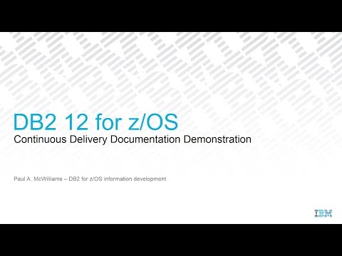 DB2 12 for z/OS — Continuous Delivery Documentation