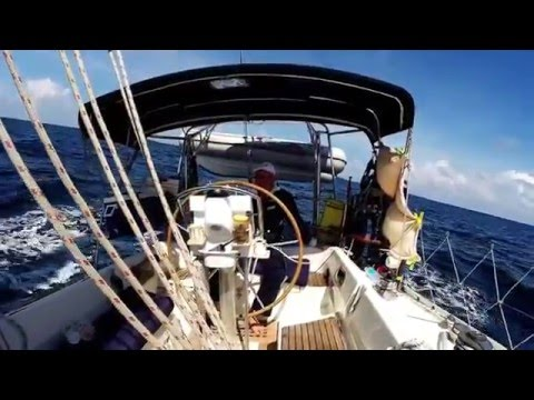 Sailing in Asian waters