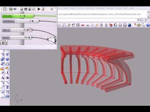 Parametric Bench Chair