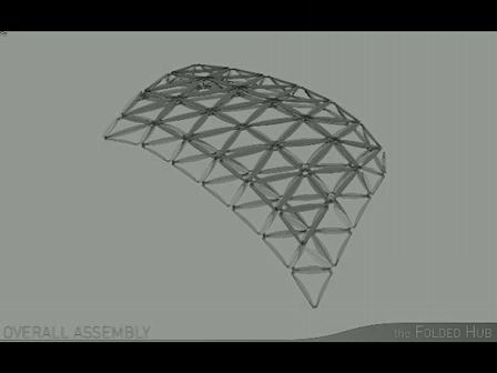 folded hub