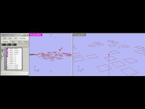 Learning to Fly in Grasshopper3d