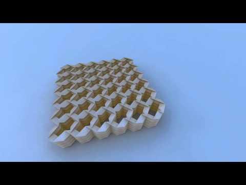 Miura & Tachi Rigid Foldable Cylinder Tessellation
