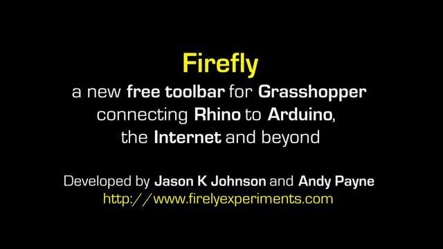 Firefly for Grasshopper / Arduino