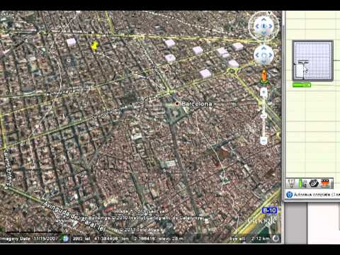 Grasshopper 3d to Google Earth (4th Test)