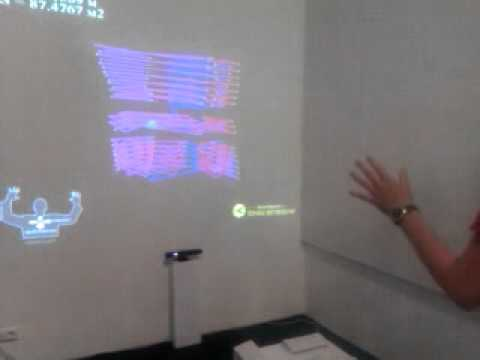 Branchpoint kinect installation