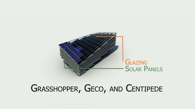 Geco with PV Panels (+Centipede)