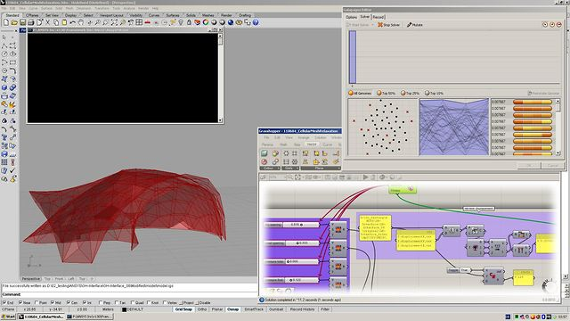 Grasshopper-ANSYS Interface