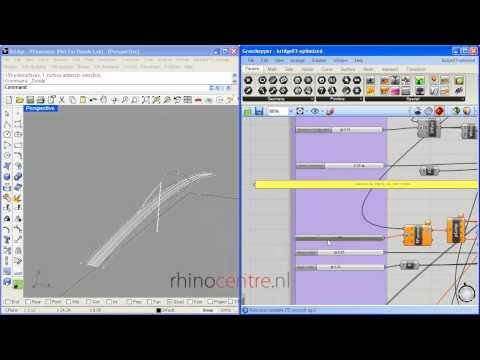 Bridge Design with Grasshopper for Rhino