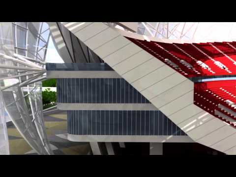 Hangzhou Stadium, China : Architects : NBBJ + CCDI