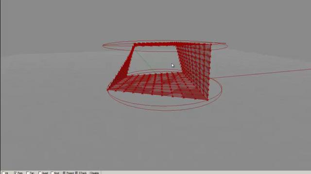 Circle Jig + Hooks law + Mesh relaxation