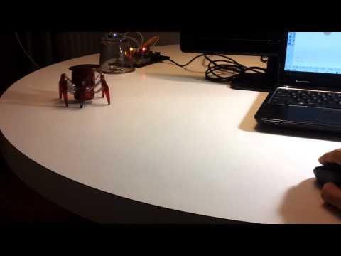 HACKING A HEXBUG SPIDER - ARDUINO + FIREFLY