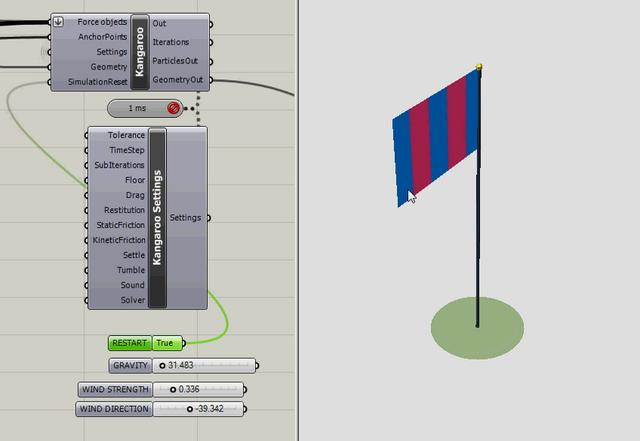 FLAG - PHYSICAL SIMULATION