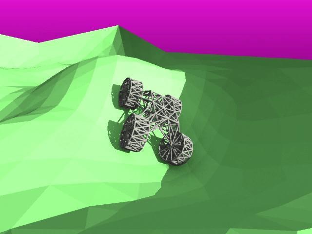 Kangaroo - traction test 3d