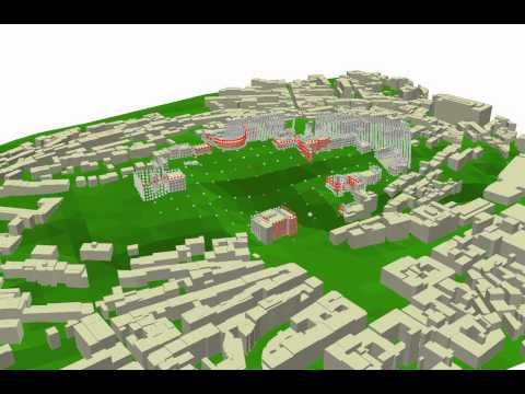 3d urbain Isovist
