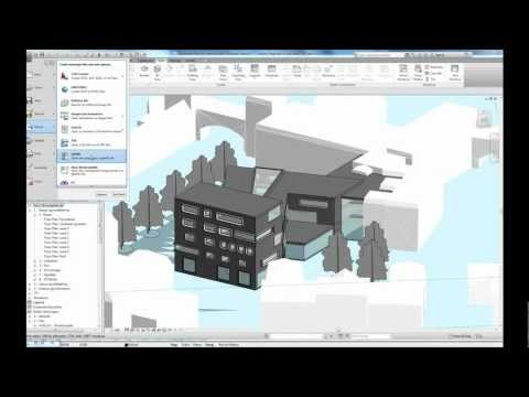 Revit + Grasshopper + Chameleoen Sunshaders