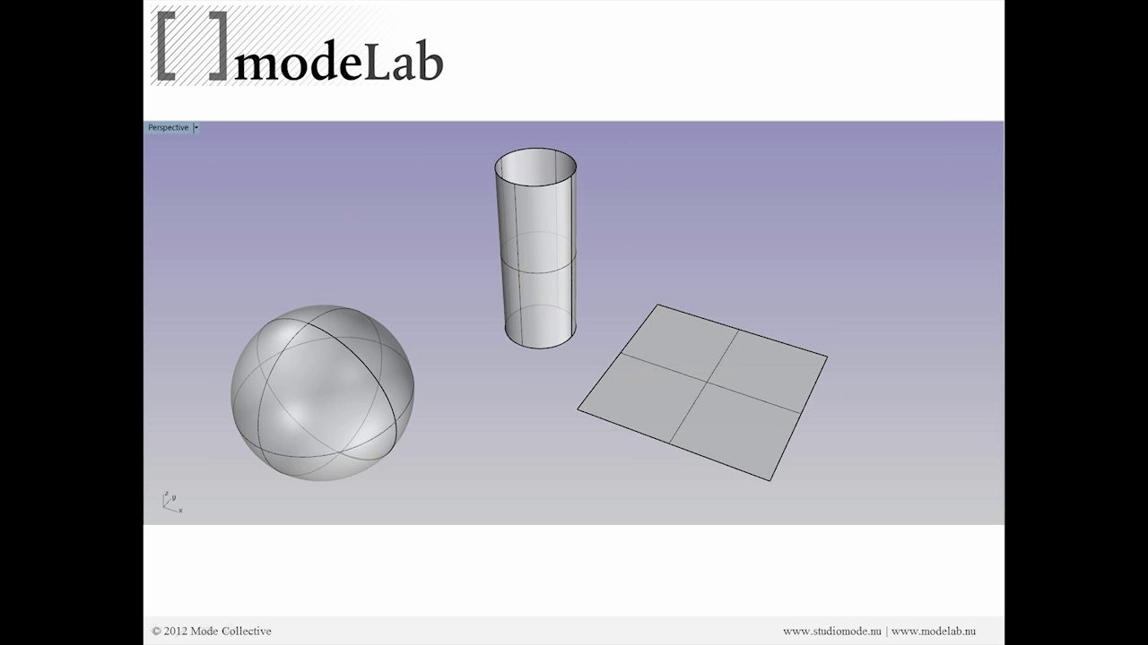 Paneling Surfaces Webinar | Part02: Introduction to Surface Geometry