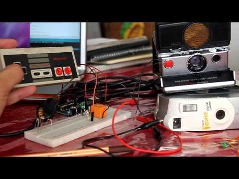 Arduinoroid [ Nes Controller + Arduino + Polaroid ] V2
