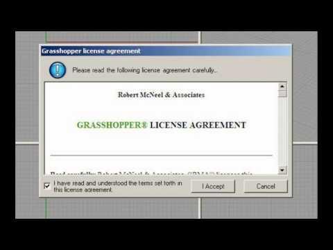 Présentation et téléchargement du module Grasshopper pour Rhino4 3D