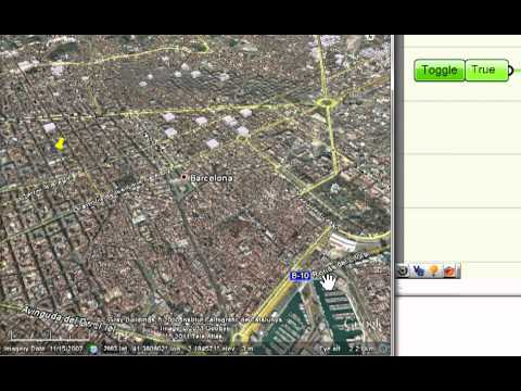 Grasshopper 3D to Google Earth (2nd Test)