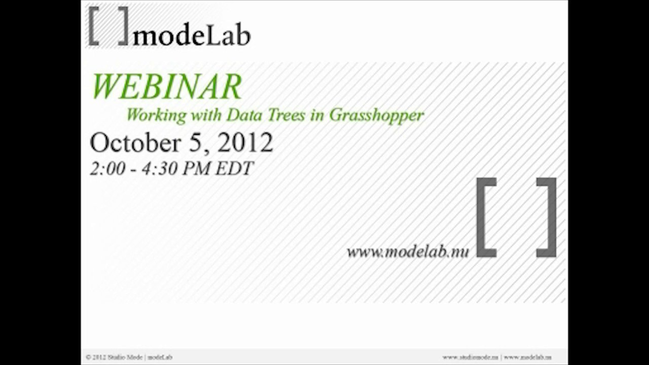 Working with Data Trees Webinar | Part01: Introduction