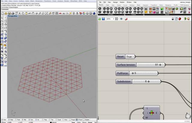 Dynamic Catenary Hexagon