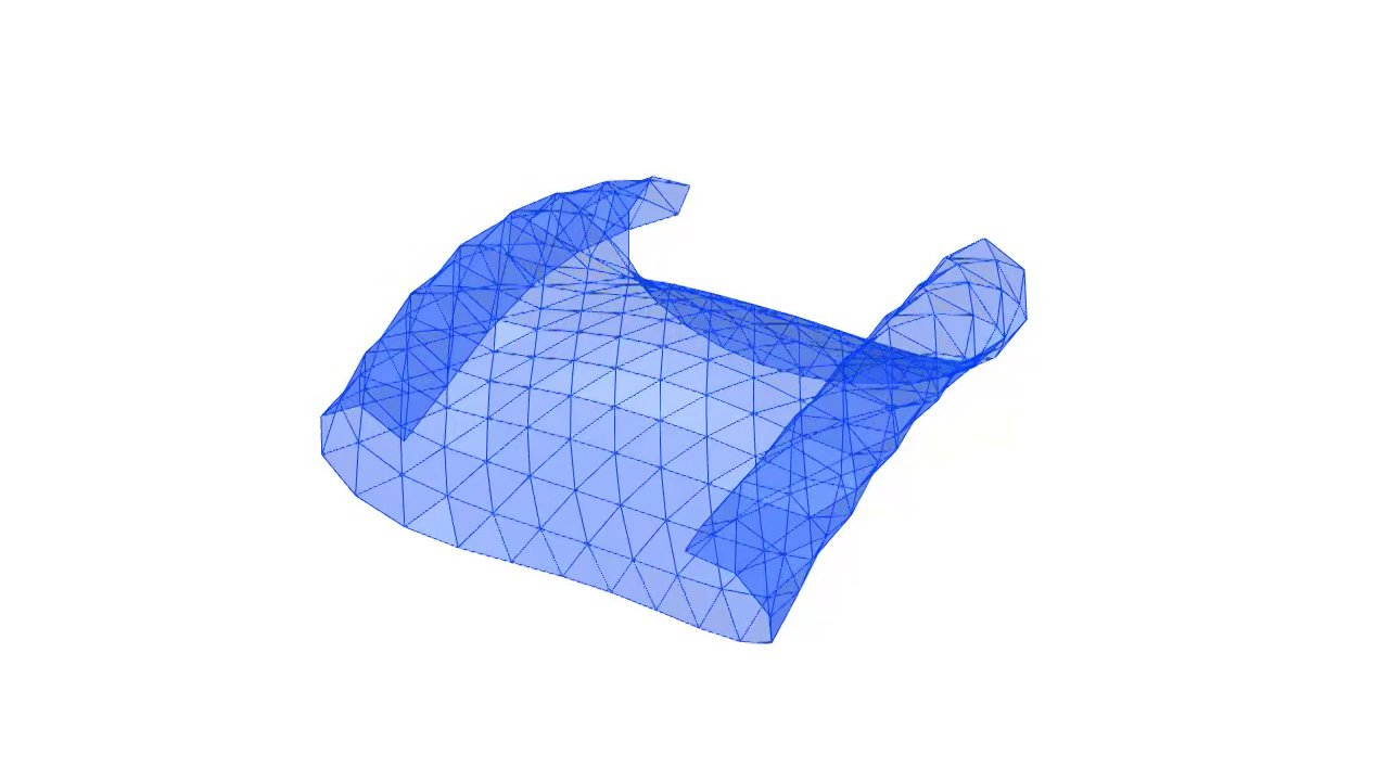 Fabric Pinching Physics Simulation