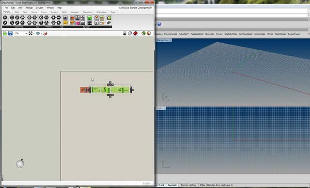Live Real Time Sync FeedBack Loop: Excel -> Grasshopper -> Excel -> Grasshopper