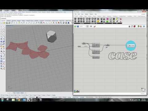 Case Grasshopper Plug-in Preview: Unroll