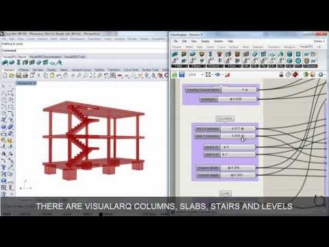 Export to IFC from Grasshopper to Revit with VisualARQ