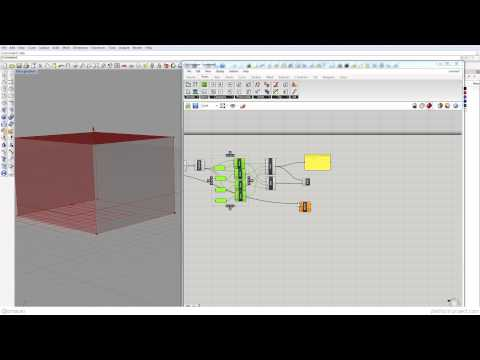 Rhino3D Grasshopper Tutorial16 - Geometric Orientation