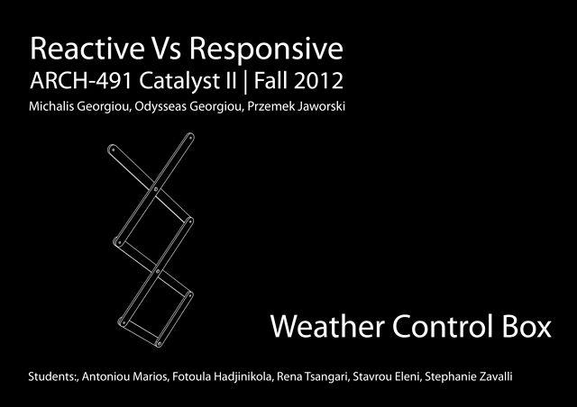 [RvsR]₂ - Weather Control Box