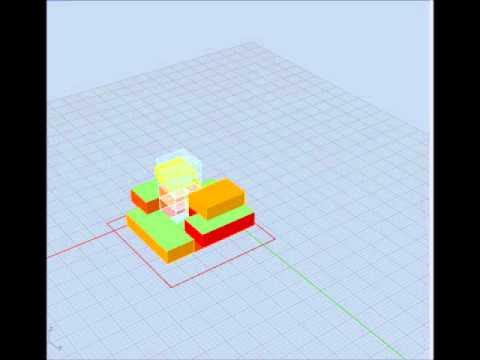 Grasshopper3d - Automatic vertical aggregation